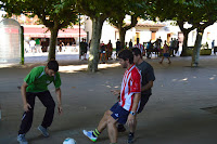 Partido de fútbol de inicio de las fiestas de El Regato