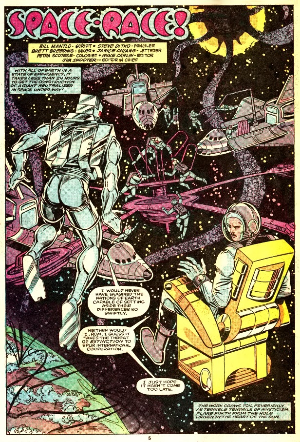 What Does Sd Mean >> ~It's the little things in comics...: Steve Ditko: Spaceknight