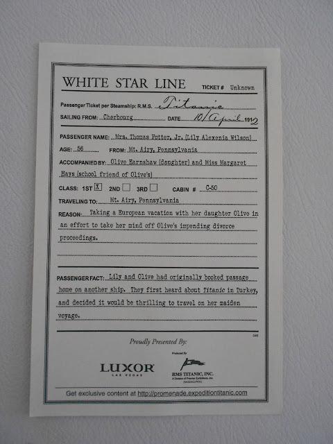Ingresso Titanic - Luxor - Las Vegas