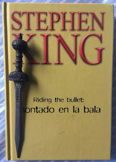 Portada del libro Riding the bullet: montado en la bala, de Stephen King