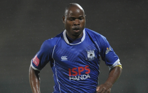 Highlands Park have unveiled 12 new signings including Collins Mbesuma.