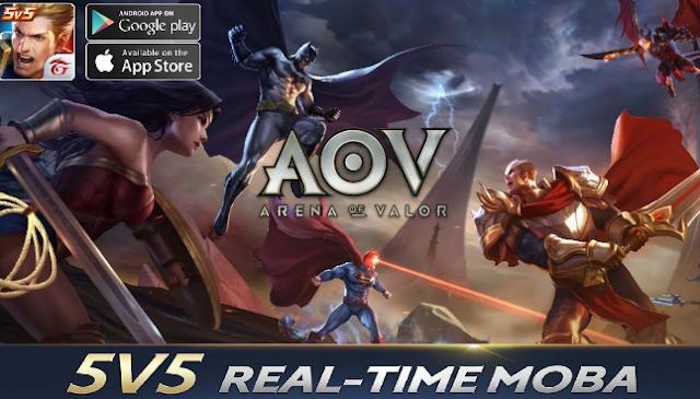 garena aov - arena of valor action moba