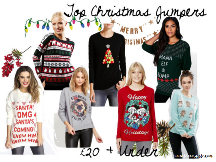 Top Christmas Jumpers | 2016 | £20 and Under | Love, Maisie