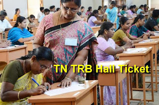 TN TRB Hall Ticket