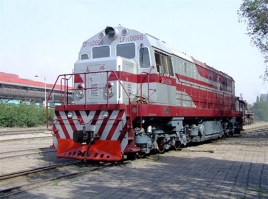 DF7G Diesel Shunting Locomotive
