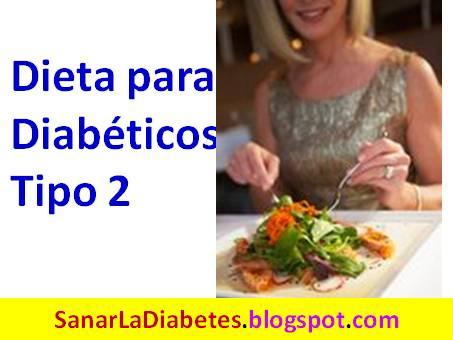 diabetes tipo 2 dieta para perder
