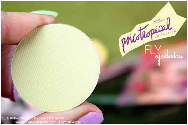 eyeshadow ombretti FLY psicotropical collection neve cosmetics