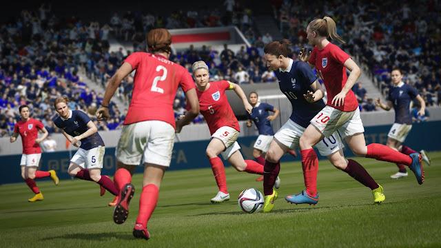 FIFA 16 chicas jugando