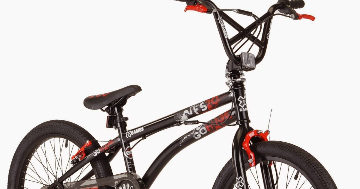 Exercise Bike Zone: X-Games FS20 Freestyle BMX Bicycle