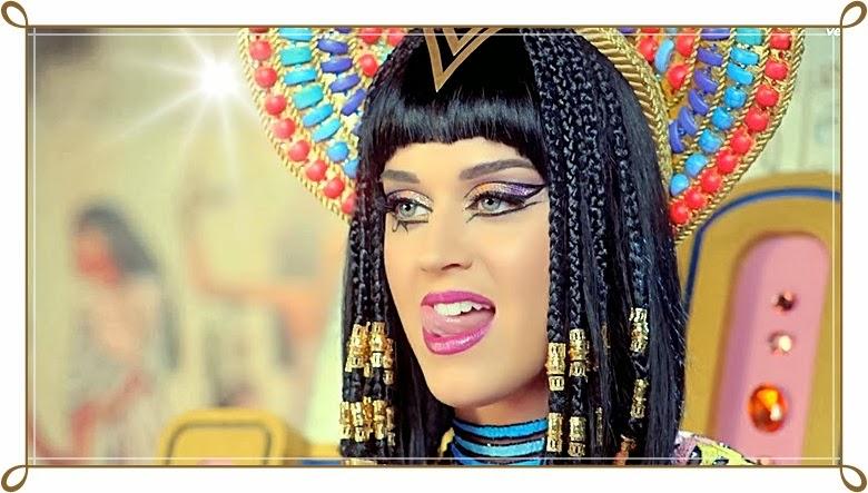 Manguita Rosa Maquiagem Clipe Dark Horse Katy Perry-1043