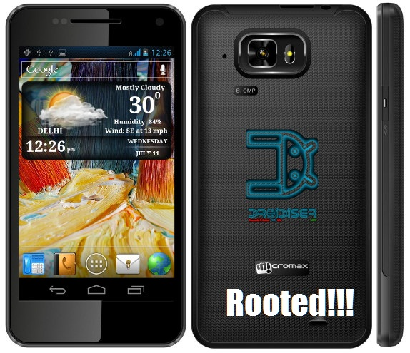 How to Root Micromax A90S - Droidiser