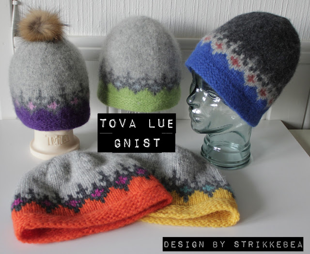Gnist Tova Luer - En ny strikkeoppskrift!
