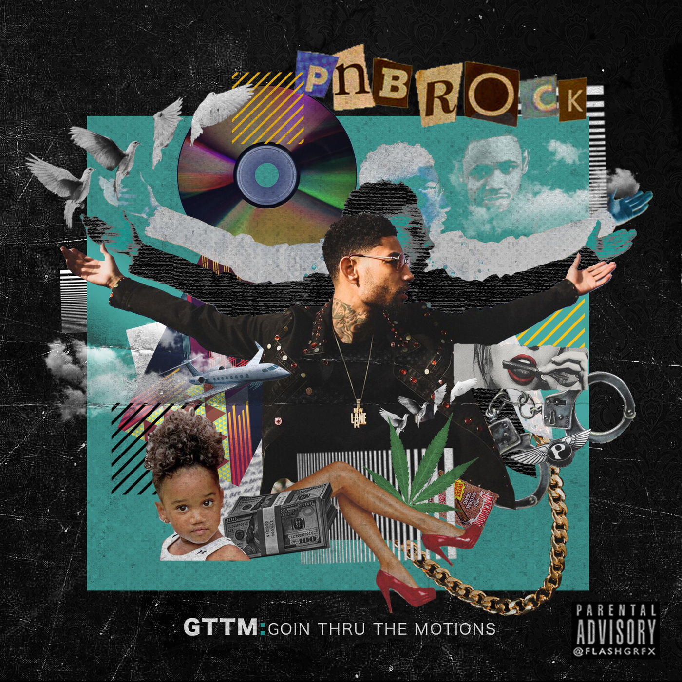 PnB Rock - New Day - Single Cover