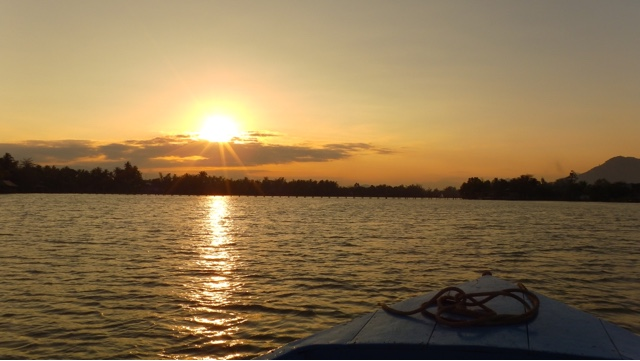 River Sunset Cruise Nha Trang Vietnam