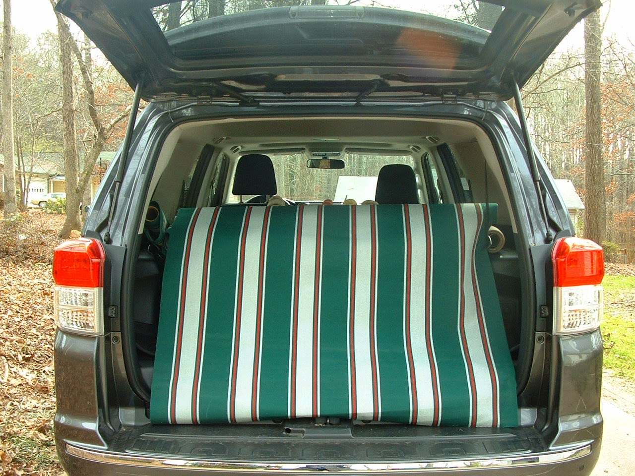 Vintage Awnings A Cargo Hold Load Of Sunbrella Awning Fabric