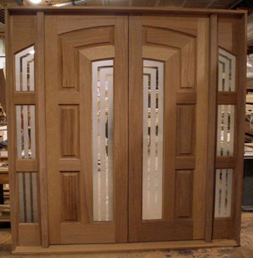 pintu double kayu 1