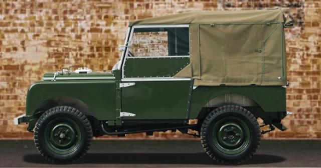 Land Rover Serie I (Restaurado)