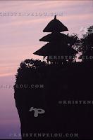 Ulu Watu Temple monkeys at sunset, Bukit, Bali surf photographer Kristen Pelou