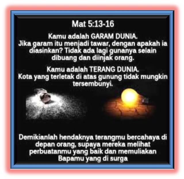 Matius 5:13-16