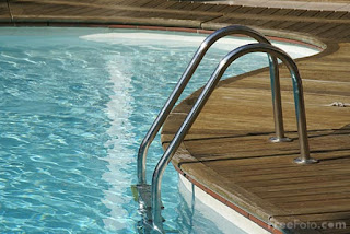 Image: Swimming pool, Cote D'azur, France (c) FreeFoto.com. Photographer: Ian Britton