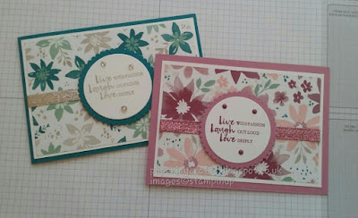 Stampin Up Blooms and Wishes Paperjay Crafts