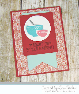 I'm Bowled Over card-designed by Lori Tecler/Inking Aloud-stamps and dies from My Favorite Things