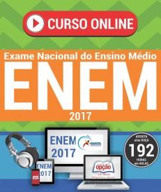 curso online ENEM 2017