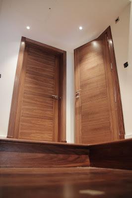 Veneered doors showcase