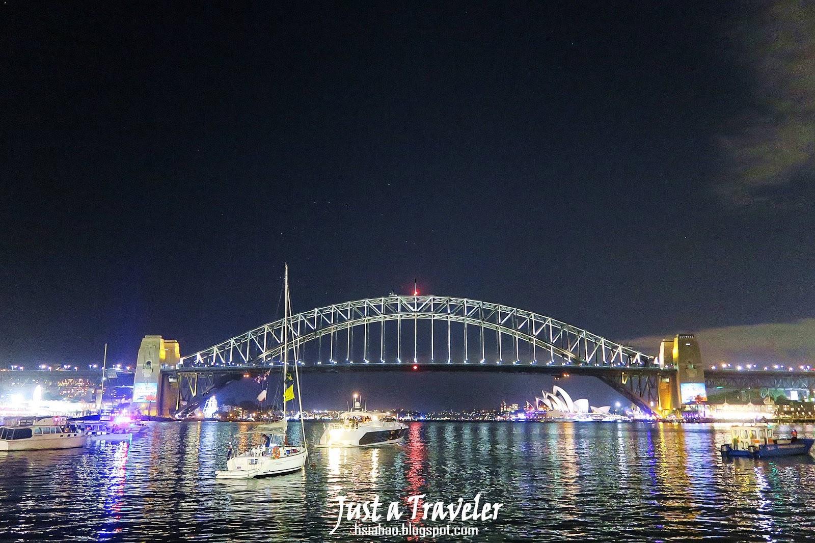 雪梨-跨年-港灣大橋-Harbour-Bridge-夜景-煙火-賞點-推薦-旅遊-自由行-澳洲-Sydney-Tourist-Attraction-Travel-Australia