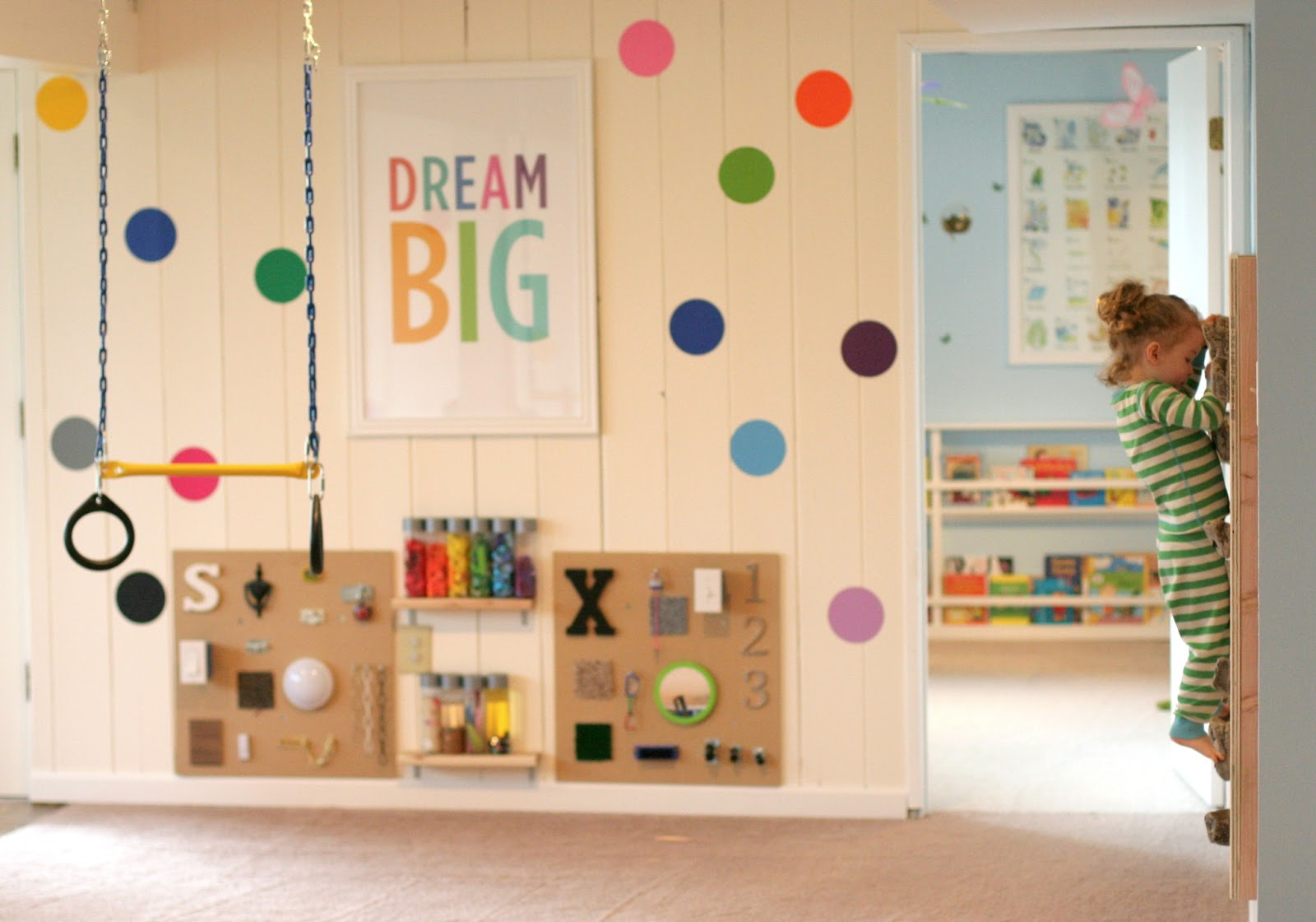 Playroom For Kids. Kids Play Room