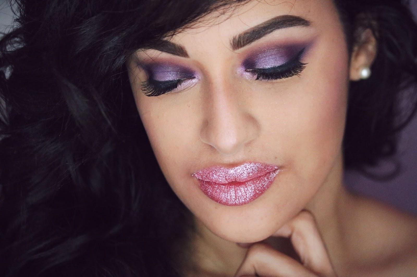 rosemademoiselle , rose mademoiselle , hello gorgeous, kit paillettes lèvres ,tutoriel , revue , avis , glitter lips , cotton puff , hgbeauty, paris , blog beauté