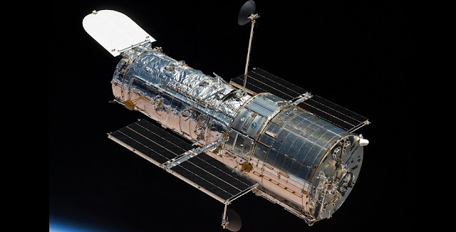 Hubble Space Telescope. Credits: NASA