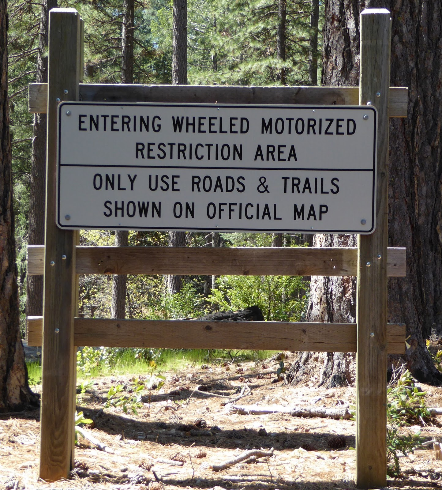 tmr also requires the forest or ranger district to publish a motor vehicle use map mvum that identifies where those legal motorized opportunities exist