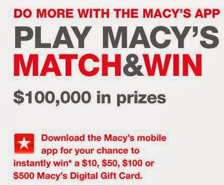 0903c1d305 how often to enter macys instant win
