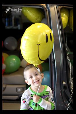 happy carpooler