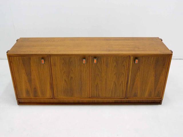 Modernist Mid Century Walnut Sideboard Frank Kyle 2