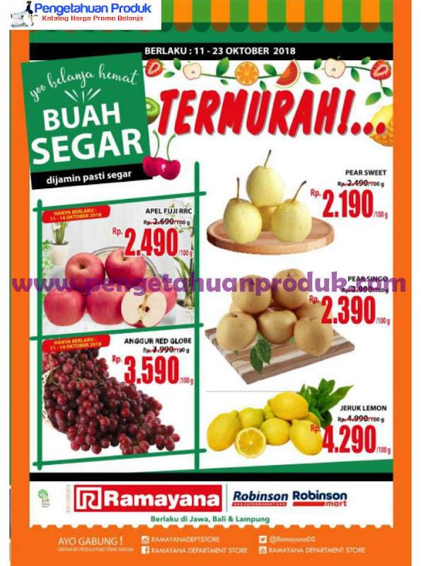 Katalog Promo Ramayana Supermarket Terbaru Periode 11 23 Oktober