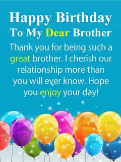 Birthday wishes, messages & quotes for brother
