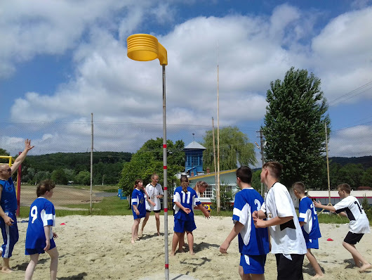 Beach korfball tournament in Vynnyky
