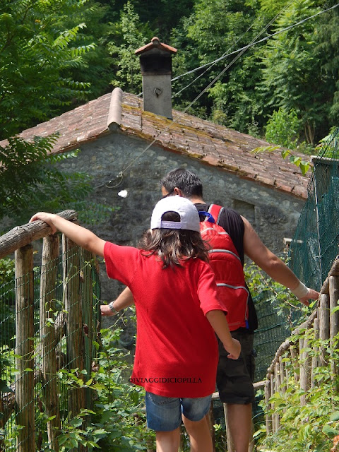 Grotte del Caglieron : verso casa