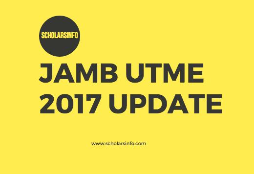 JAMB Update 2017
