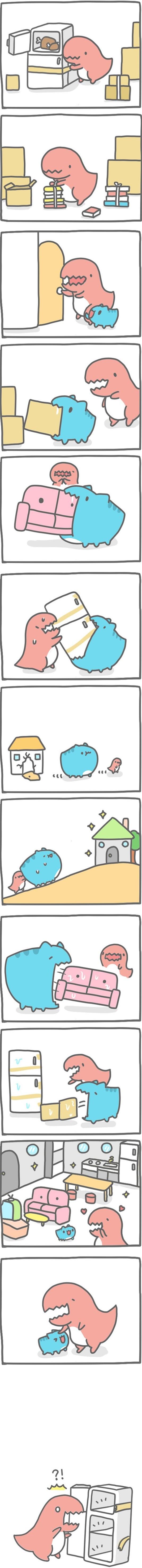 Truyện Mìn Lèo #112: Dịch vụ dọn nhà