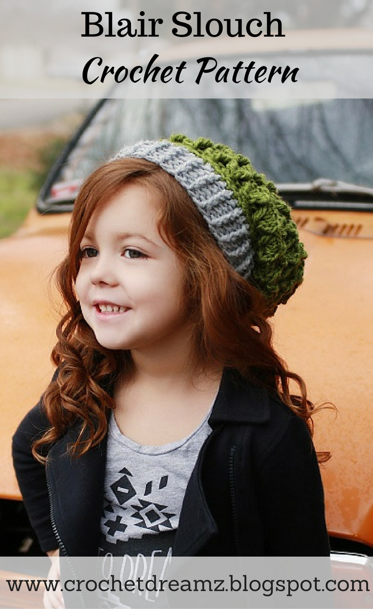 Crochet dreamz how to make a slouchy hat slouch hat crochet crochet slouch hat pattern in multiple sizes bankloansurffo Image collections