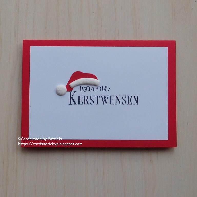 Cards Made By P Warme Kerstwensen