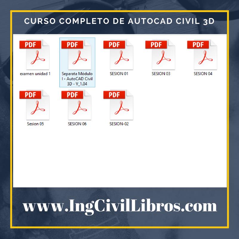 curso completo de Autocad Civil 3d