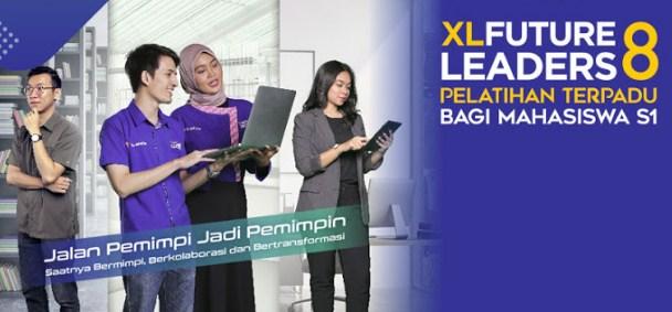 Beasiswa Pelatihan Mahasiswa S1 di XL Future Leaders 2019