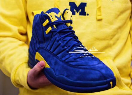 b7b02d86a79 This very special PSNY x Air Jordan 12 not only continuation of the  configuration of ...
