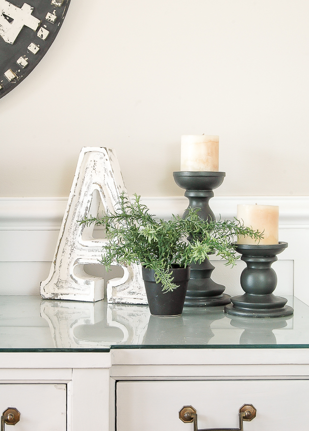 Greenery is a must have home decor staple