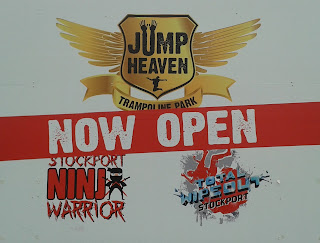 The Jump Heaven Trampoline Park in Stockport also has a Ninja Warrior course and Total Wipeout