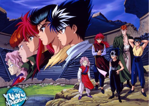 Yuu☆Yuu☆Hakusho - Daftar Anime Martial Arts Terbaik dan Terpopuler